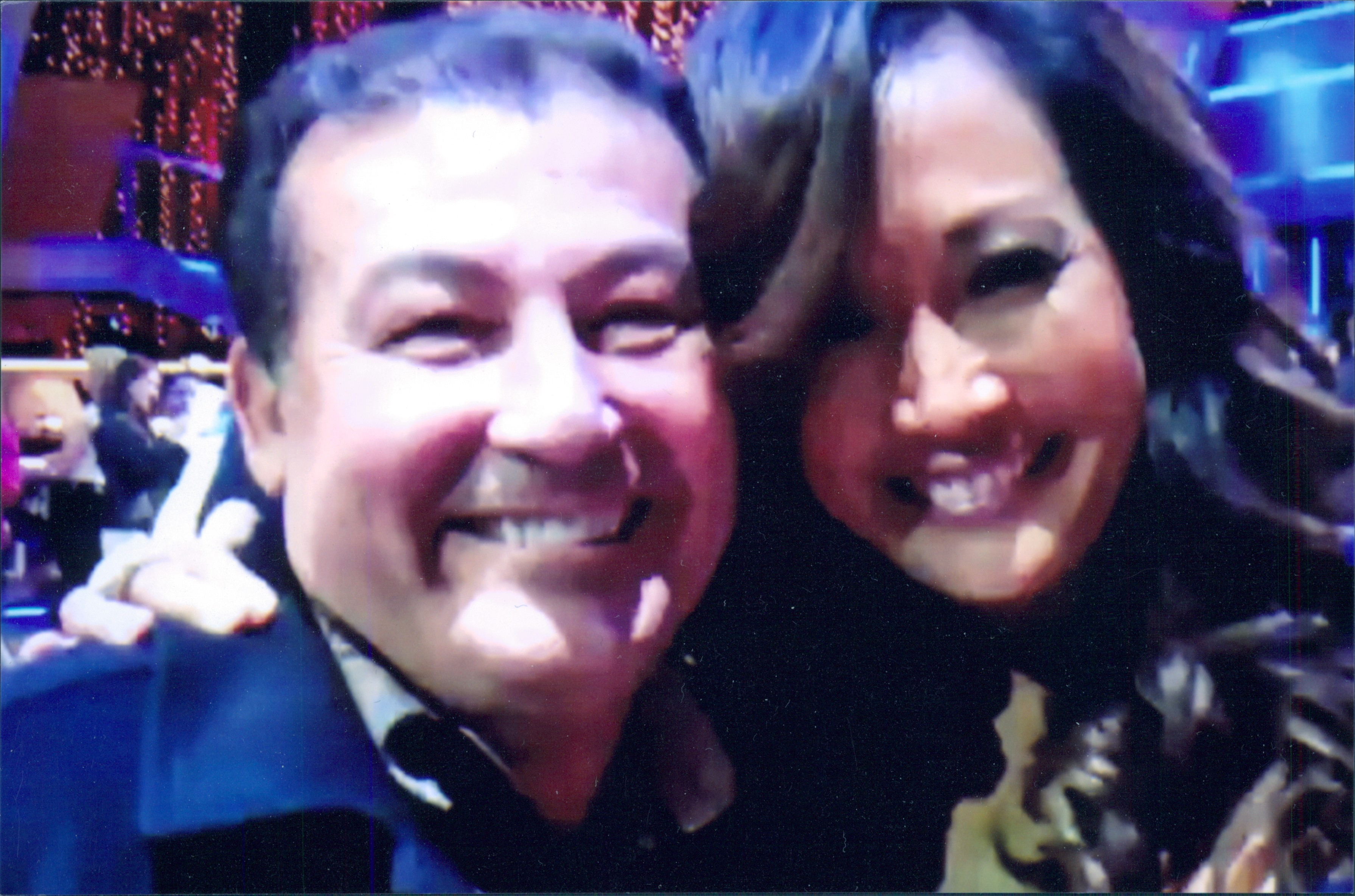 Stan Rodarte and Carrie Ann Inaba from Dancing with the Stars
