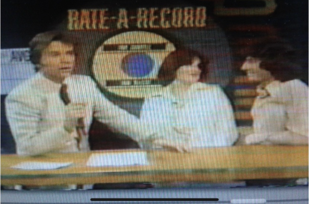 Dick Clark and Stan Rodarte on Rate a Record  on Bandstand.