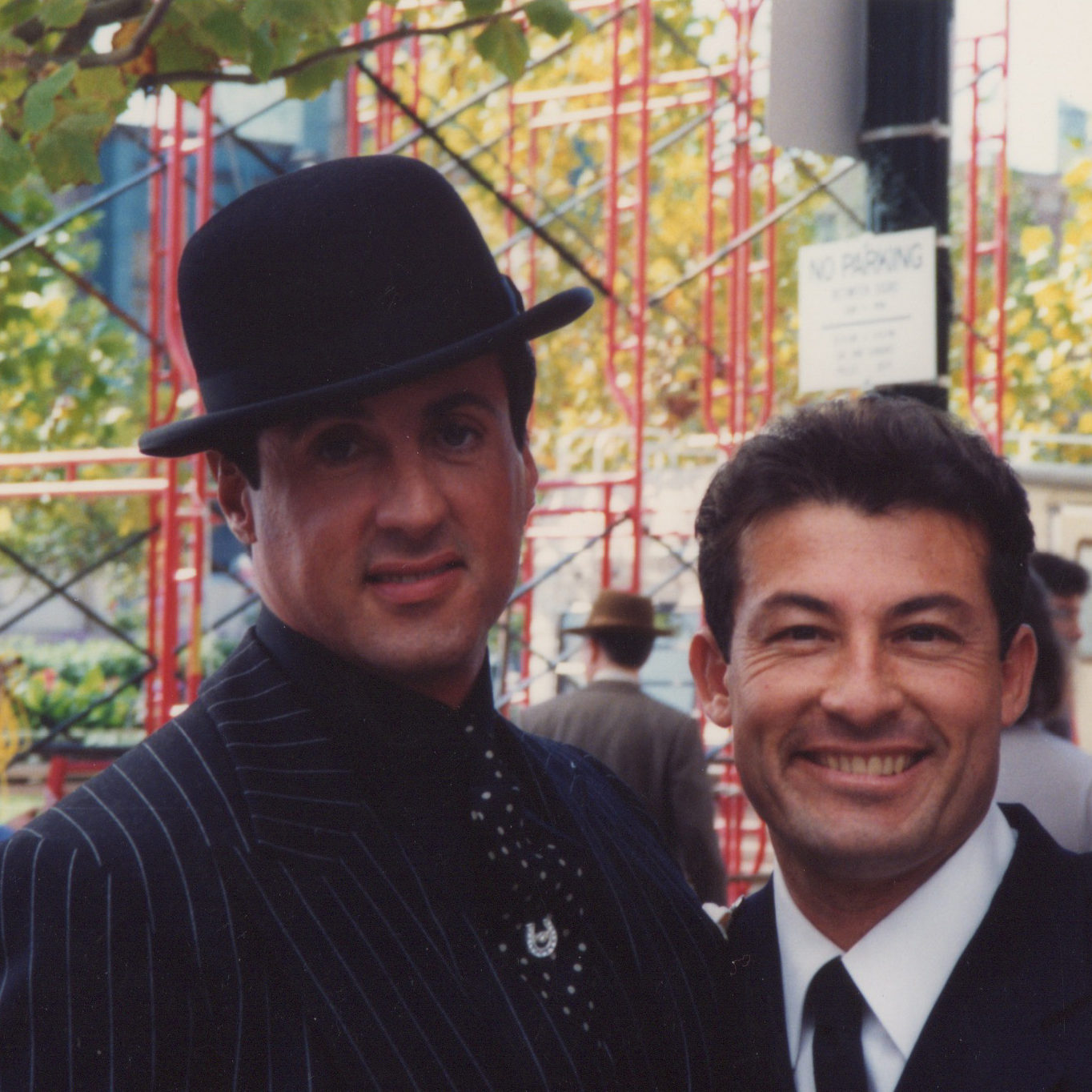 Stan Rodarte and Sylvester Stallone